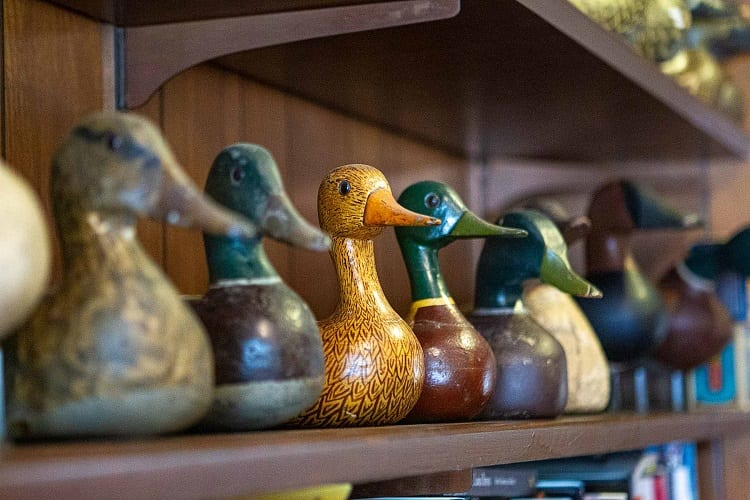 Wooden Duck Decoy Collection