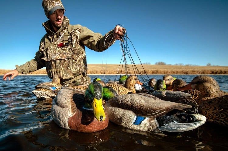 Preparing Duck Decoys