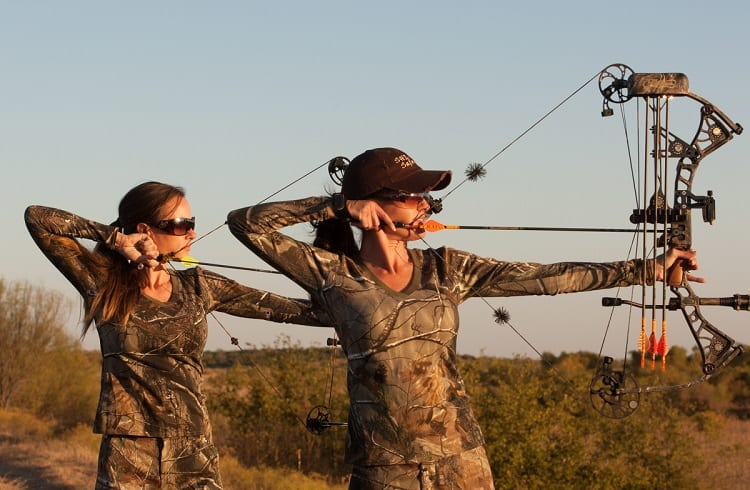 training with compound bow