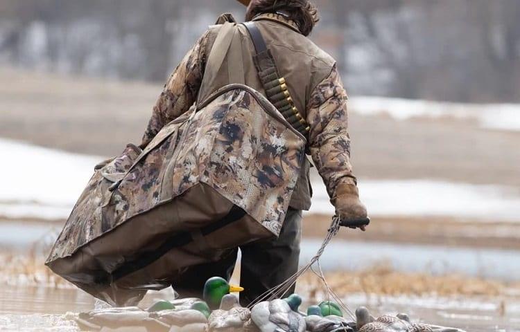 12 slots duck decoy bag