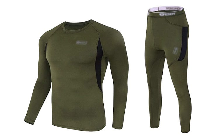 CL Convallaria Thermal Underwear Set Winter Hunting Gear Base Layer Review