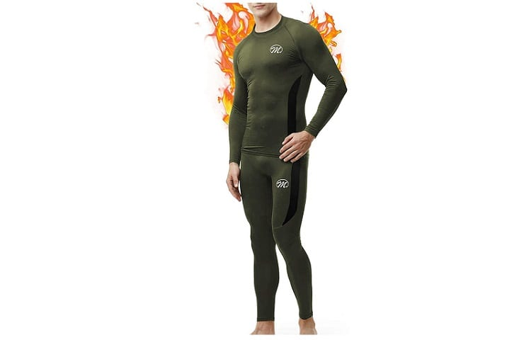 MEETWEE Men's Thermal Underwear Base Layer Top & Bottom Review