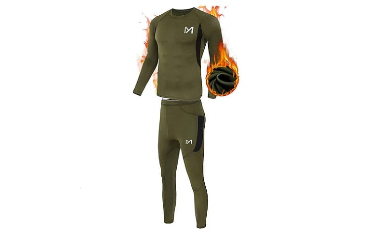 MeetYou Men's Thermal Underwear Set Base Layer Review