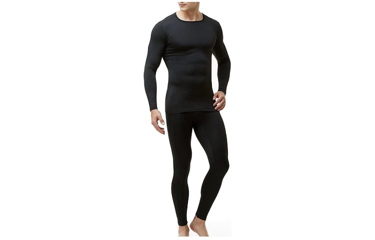 TSLA Men's Thermal Underwear Set Base Layer Top & Bottom Review