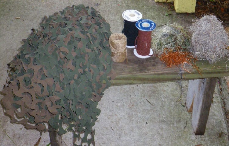 supplies for ghillie