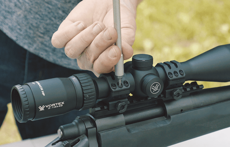 precision scope adjustment