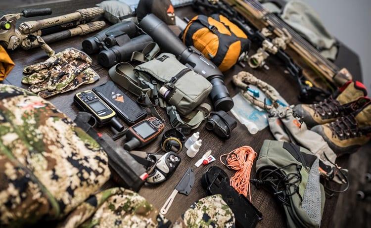 equipment for deer hunt